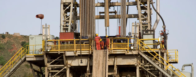 Serious injury from drilling incident