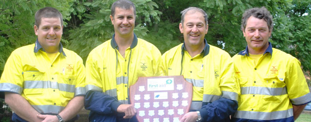Tahmoor Takes the Gong at Coal Industry First Aid Competition