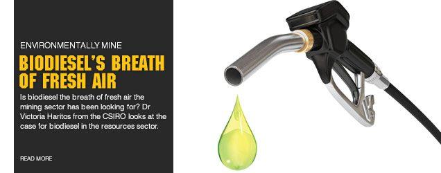 Biodiesels breath of fresh air