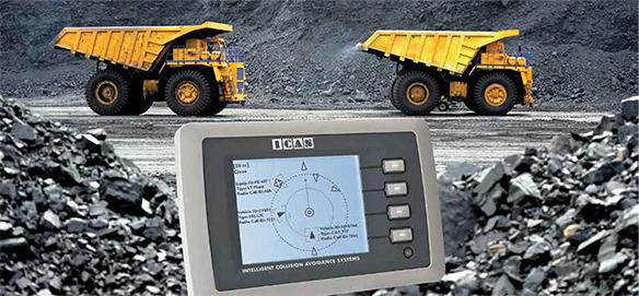 Becker Mining Systems: ICAS collision avoidance system