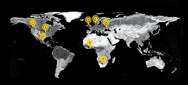 Around The World – April 2014