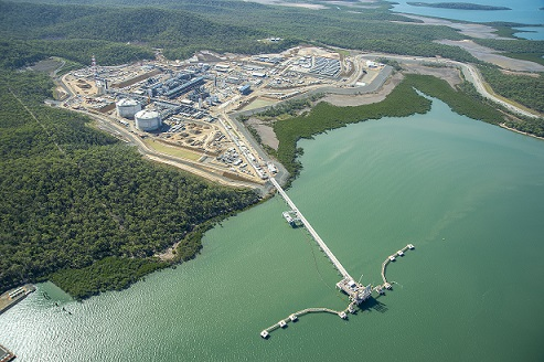 LNG plant worker injured in fall at Curtis Island