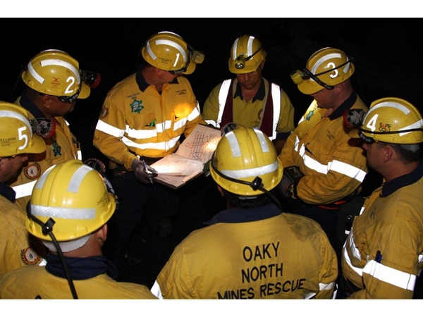 Oaky Creek North wins national mines rescue competition