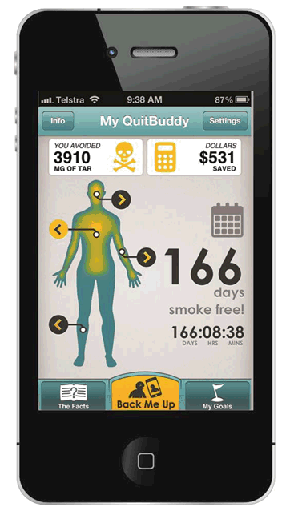 Quit Smoking With Free Quitline App