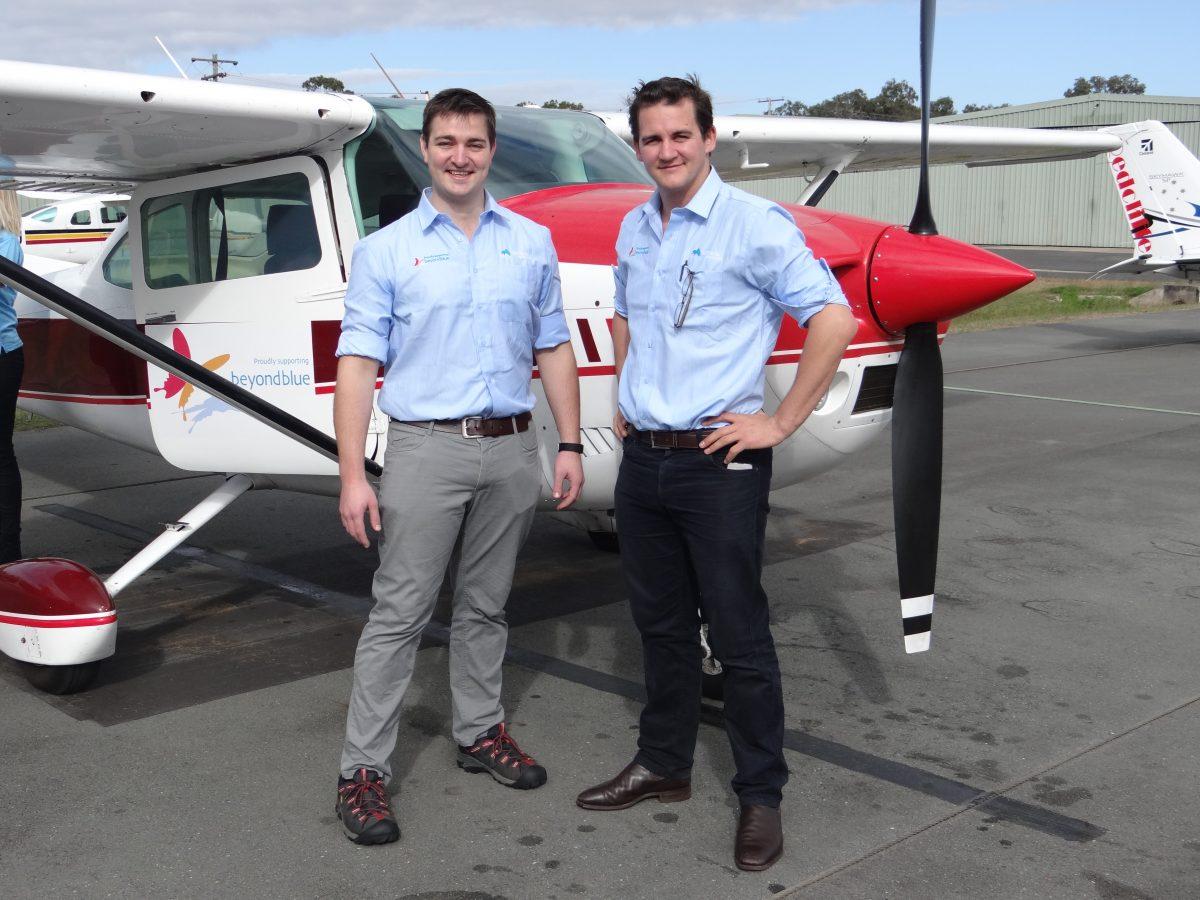 FIFO worker flies for mental health