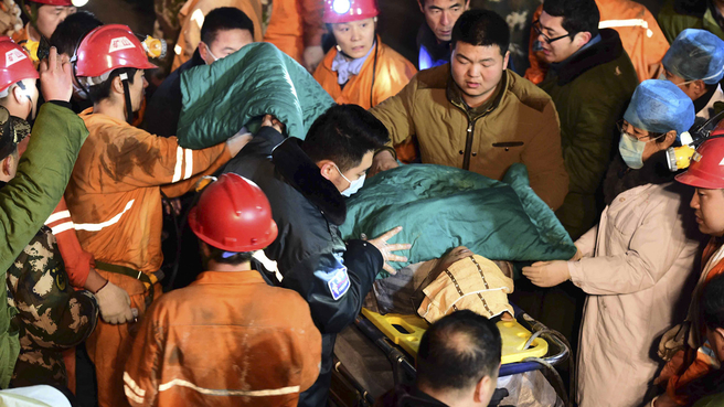 Chinese mine owner kills himself after fatal collapse