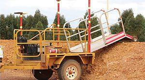 Safety-bund-trailer