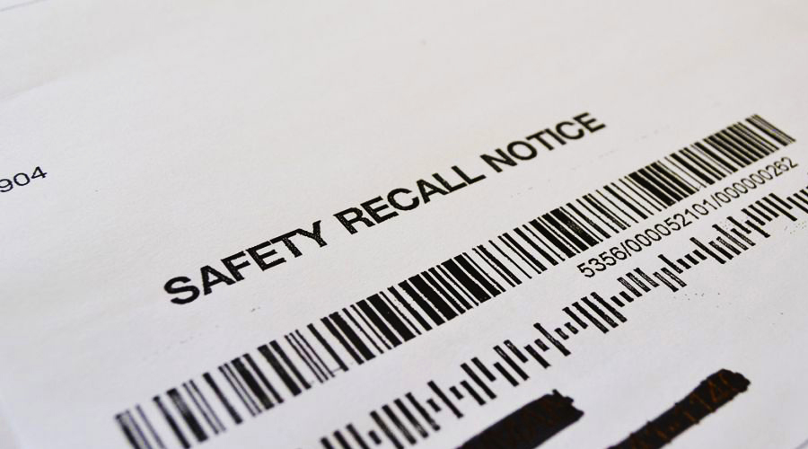Light vehicles recalled