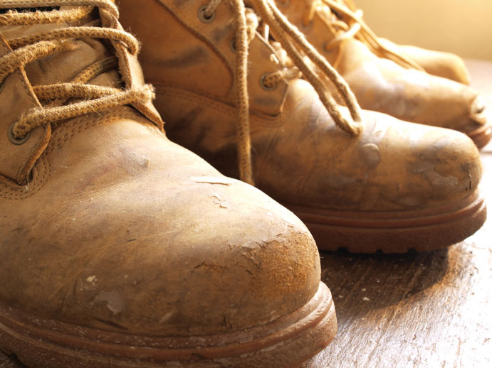 Boots out for Workers' Memorial Day