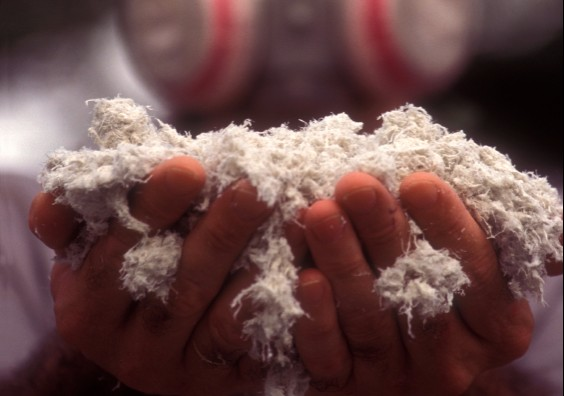 Company supplying resources industry linked with importing asbestos sheet