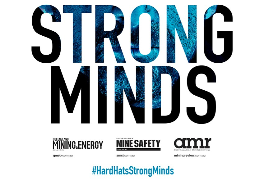 Support the #HardHatsStrongMinds campaign