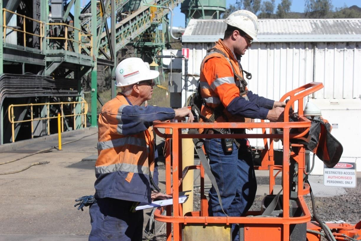 Jeebropilly Mine: Medium Employer of the Year