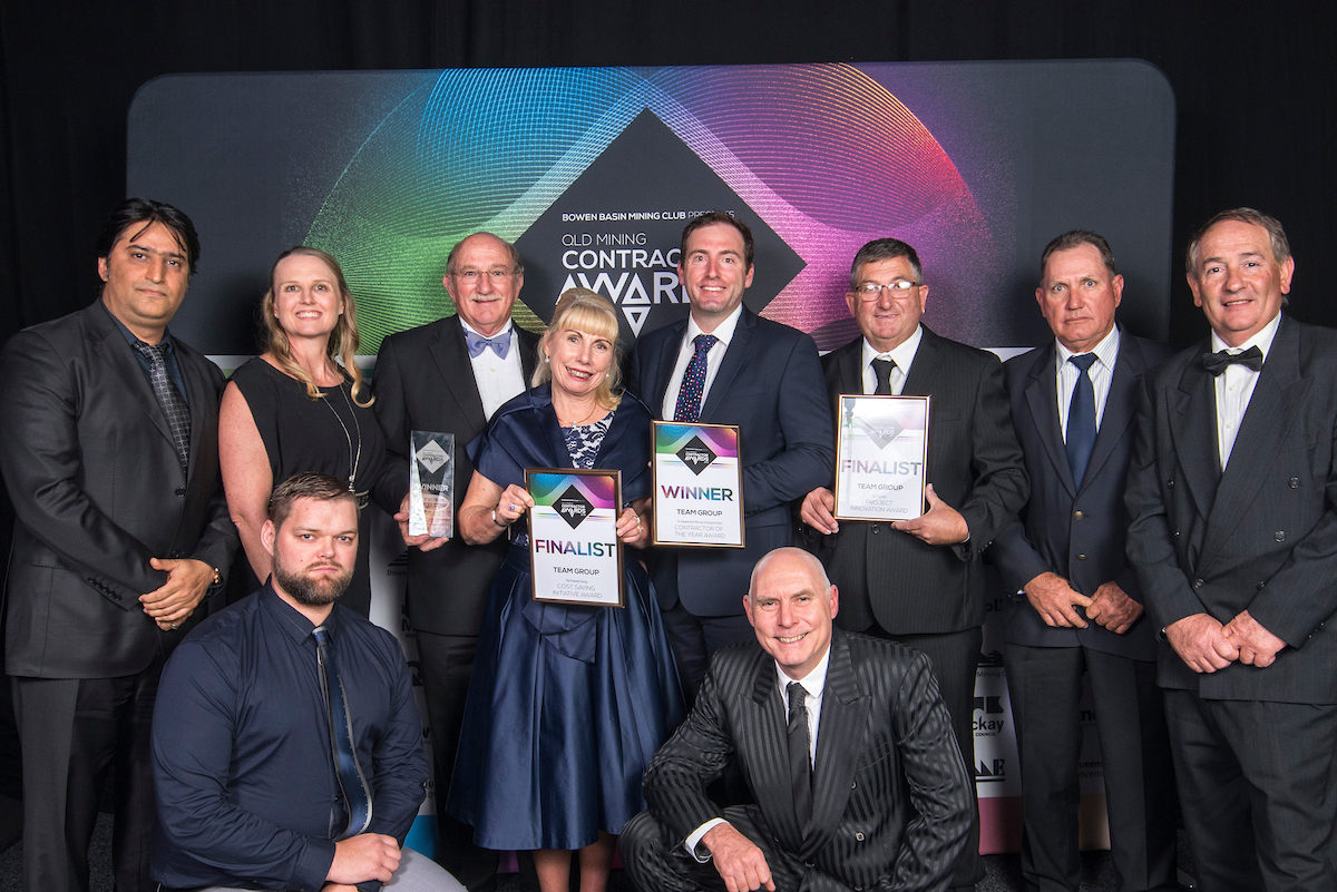 SEEKING THE BEST AND BRIGHTEST OF QUEENSLAND'S MINING INDUSTRY