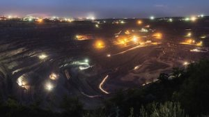 Haul road lighting contributes to mine safety