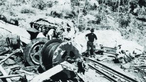 Mount mulligan mine disaster image outside portal