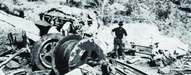 Mount mulligan mine disaster image outside portal