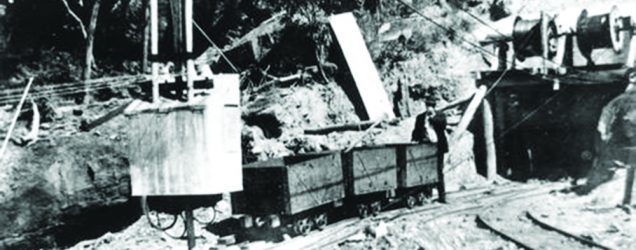 Pit head at Mount Mulligan Mine