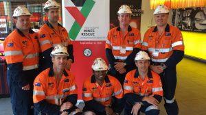 Kestrel mines rescue team