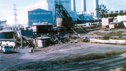 Box-Flat-Mine-1---day-after-explosion-Ipswich-1972- Box flat mine disaster