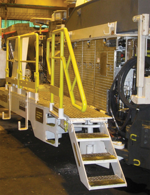 slips trips and falls can be prevented with correct access systems