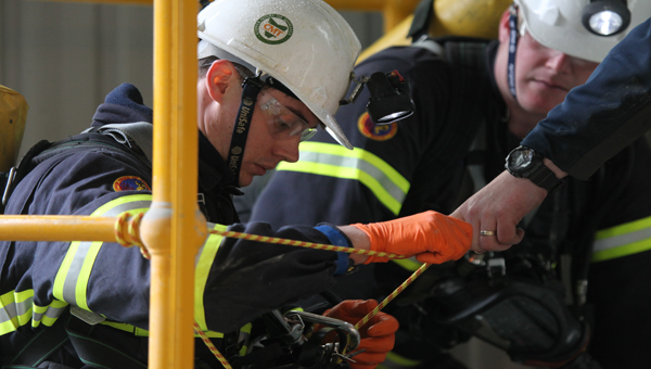 Teams compete in Tasmanian Emergency Response Competition