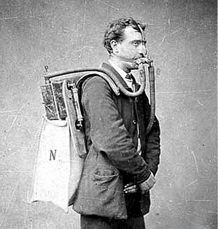 early breathing apparatus
