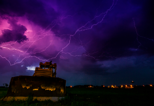 Warning Issued About Lightning, Dangerous Goods and Explosives
