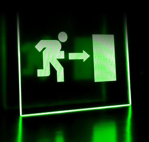 New Emergency Lighting System Talks To Devices