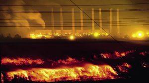 Hazelwood mine fire in the latrobe valley