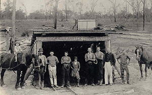 Collinsville was a simple operation before the gas outburst took the lives of seven men