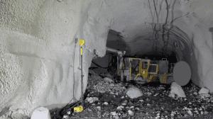 Ridgeway Mine death shotcrete wrking alone