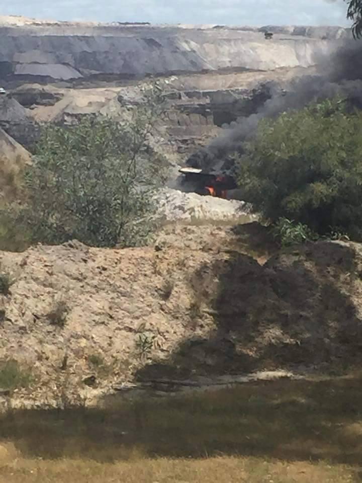 Fleet stood down after Premier Coal truck fires