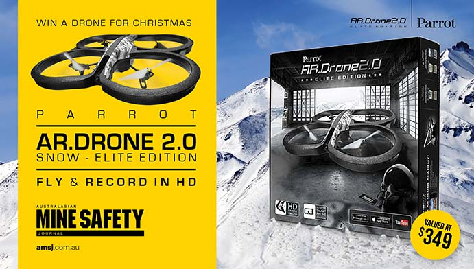 WIN a drone for Christmas