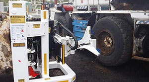 safety innovation QDS tyre handler