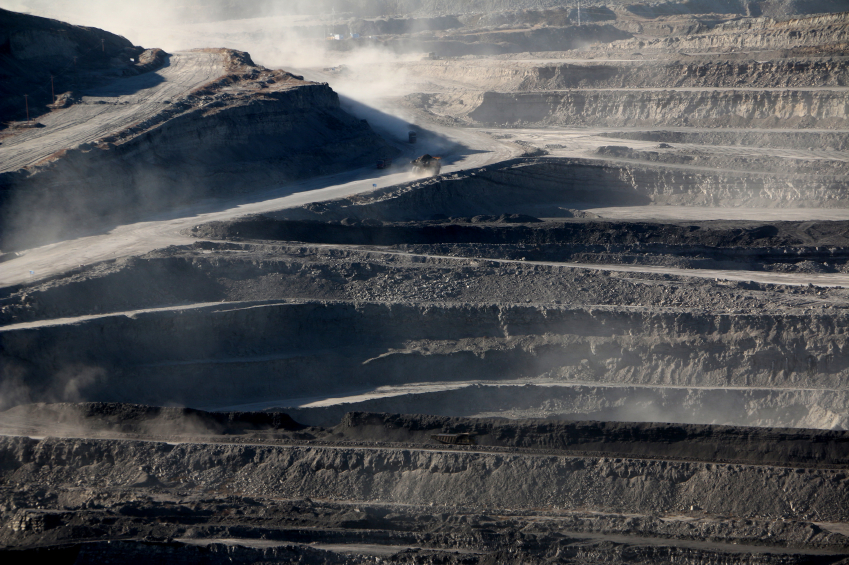 Black lung disease detected in open cut mine