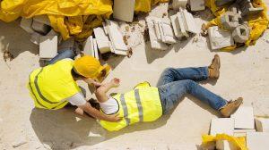 Worker fall