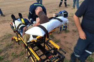 RACQ rescue helicopter quad bike accident