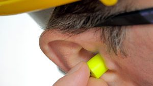 noise induced hearing loss worker earplugs