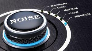 Noise control knob
