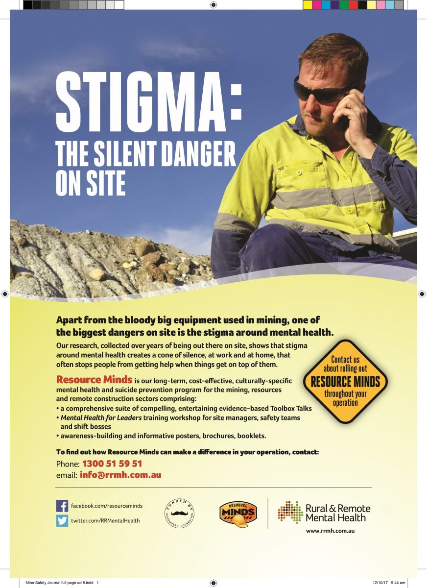 Stigma – A hidden danger on site