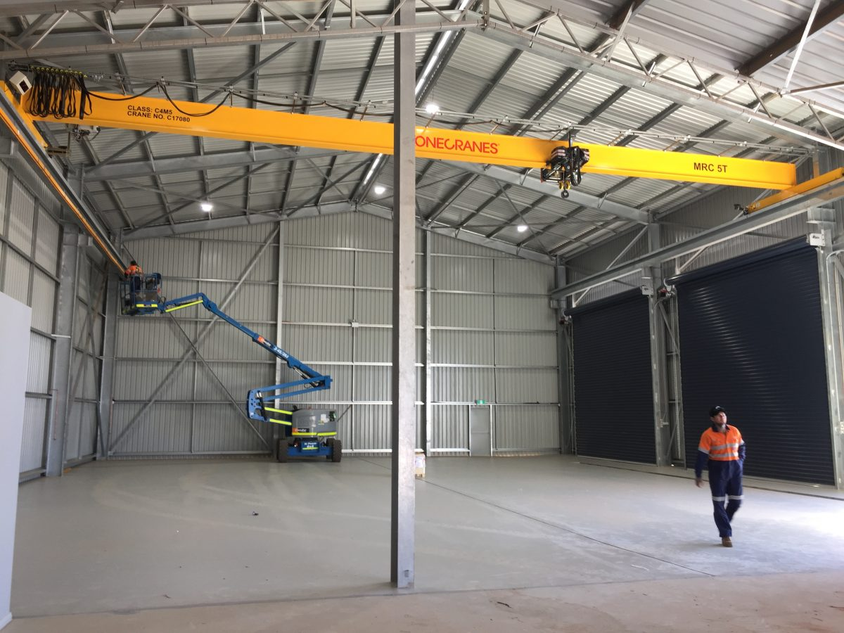 Ultra-reliable Konecranes CXT crane boosts safety and efficiency for global Sandvik Mining and Rock Technology's new WA facility