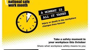 safe work australia campaign for safe work month