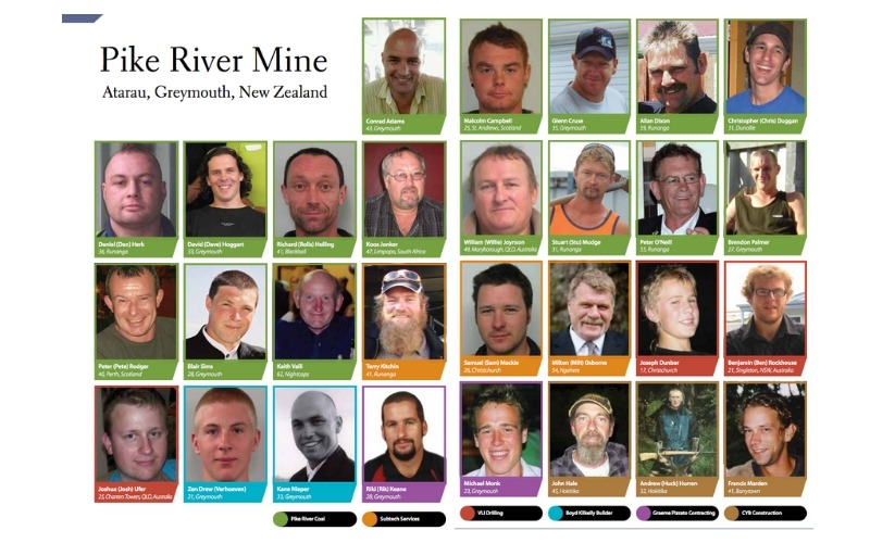 Re-entry to Pike River Mine to recover 29 bodies
