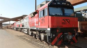 mining train derails