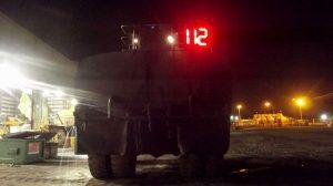 LED numbering system Hail Creek