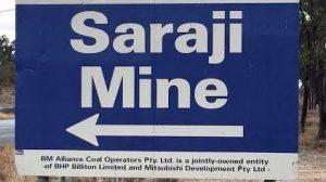 saraji mine