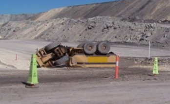 water tank rollover