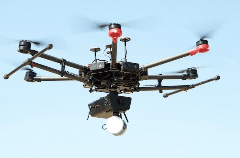 drones in mining CSIRO project