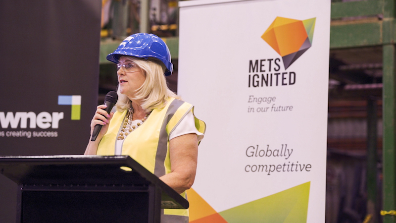 Karen andres grants METS projects funding mineral sector