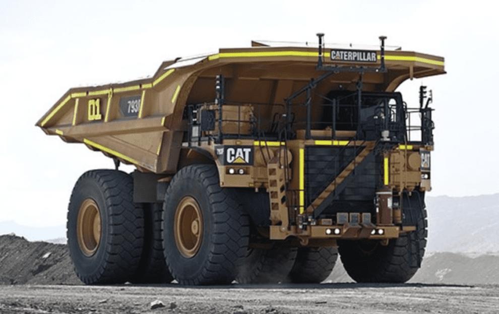 autonomous mining trucks collide in wet weather
